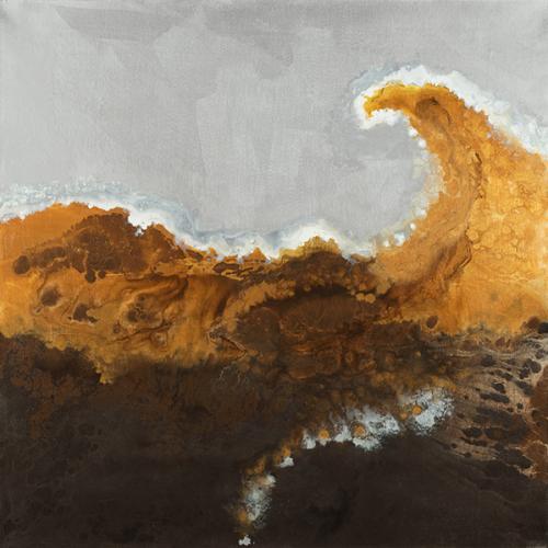 Tidal Wave In Bronze