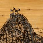 """Vintage Rollercoaster"" by Liz Jardine"