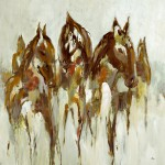 animal art, lodge art, horse art, equine art
