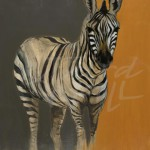 liz jardine, zebra, african art, africa, contemporary animal art