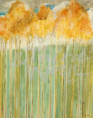 transitional landscape, autumn, fall, painting, seattle art, jill martin