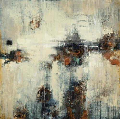abstract, contemporary, metallic, silver, bronze, seattle art, liz jardine