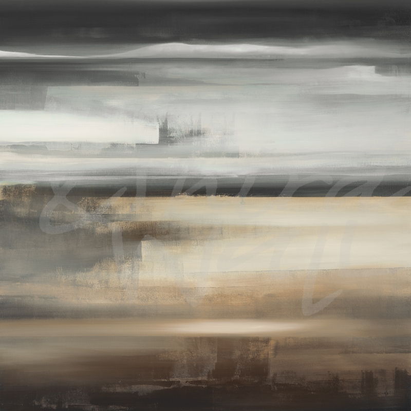 neutrals, abstract, contemporary, gray, seattle art, KC Haxton, transitional landscape,