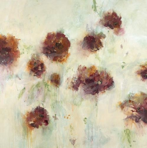 floral flowers seattle art lisa ridgers transitional