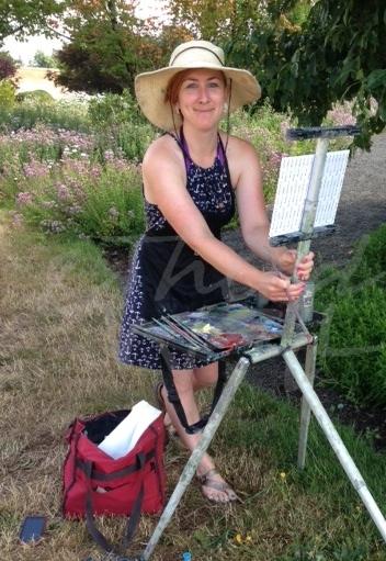 Me Painting en plein air