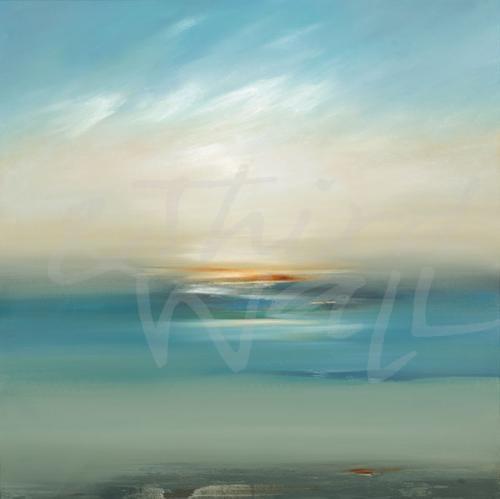 """""""Serene Scape V"""" by Lisa Ridgers"""