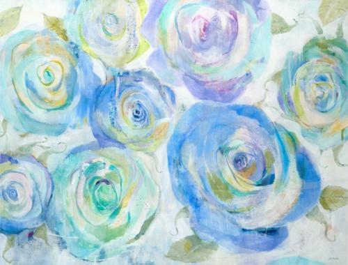 """Blue Roses"" by Jill Martin"