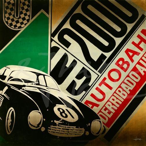 cars global vintage retro auto nostalgia seattle art