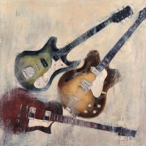 music guitars instruments rock seattle art