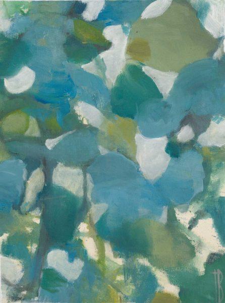 Petal Mosaic Aqua